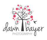 Dawn Bayer Photography Sticky Logo